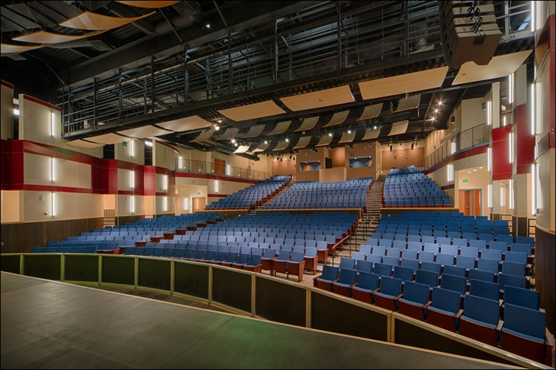 QKA Hillsdale High School Theater Seating