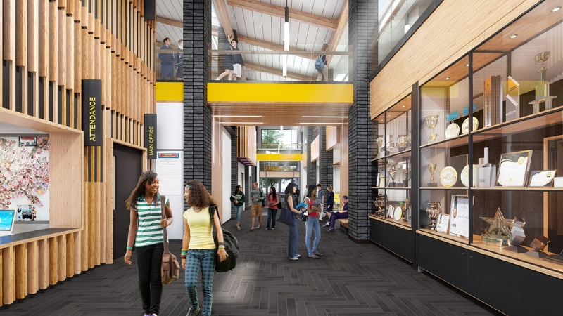 MVHS Student Services Building Rendering