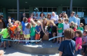 Ribbon cutting at The Cove
